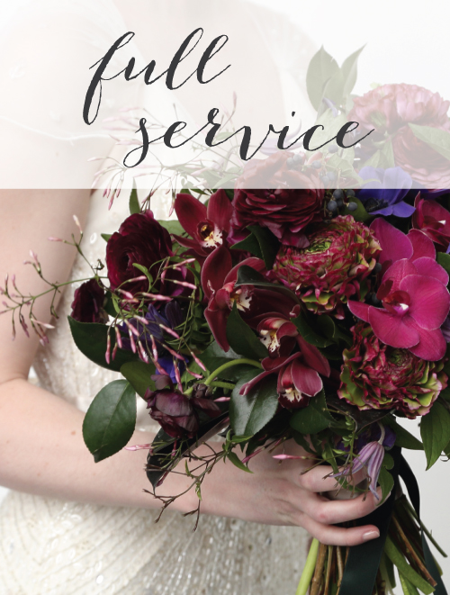 Full Service Weddings and Events