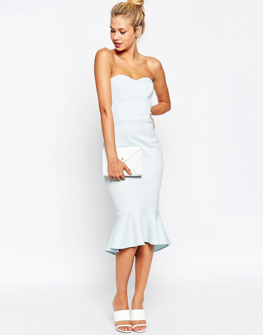 {This dress is mint, not white!!}
