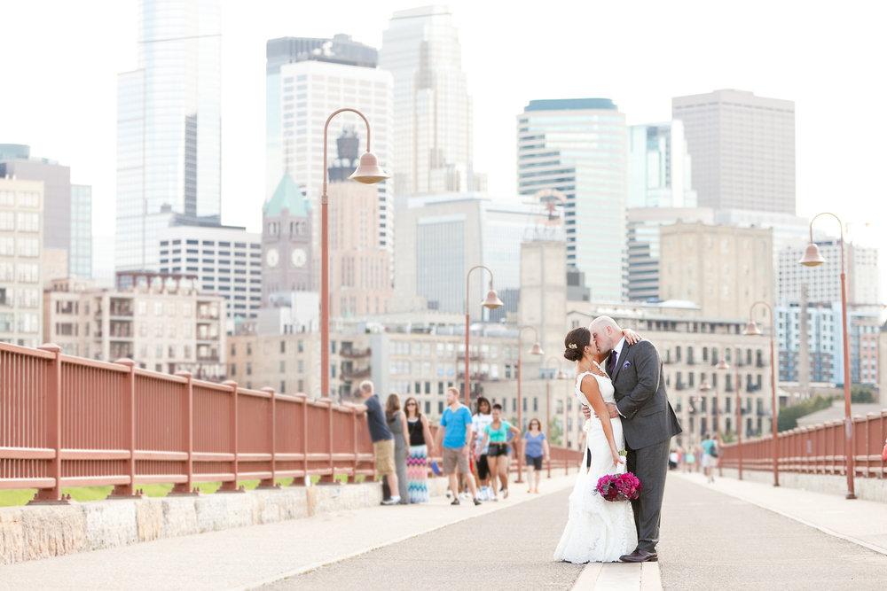 Stone Arch Bridge Wedding