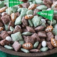 Game Day Puppy Chow