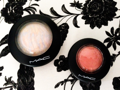 MAC Cosmetics Mineralize Skinfinish in Lightscapade & Mineralize Blush in New Romance