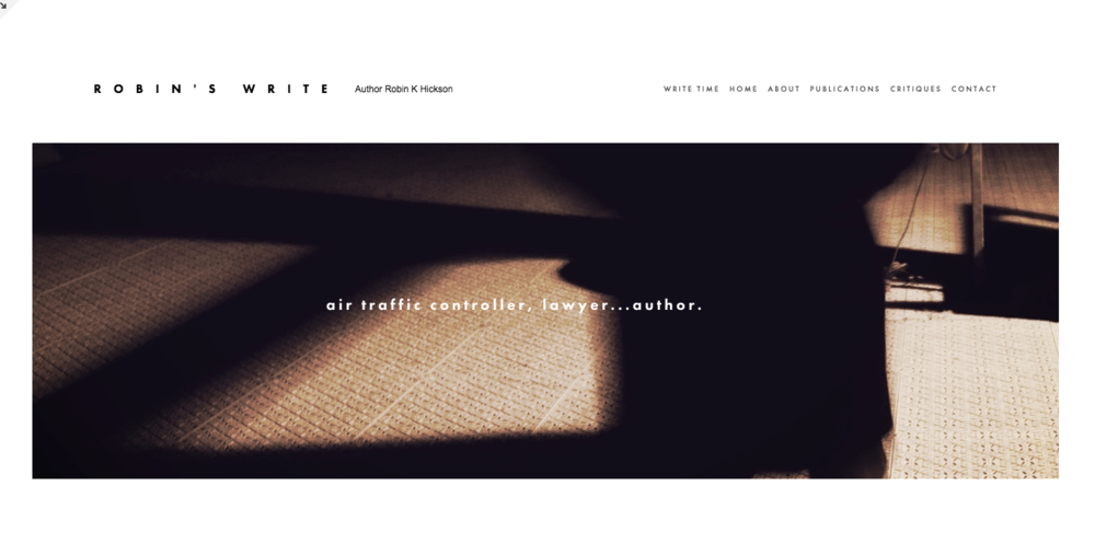 A first look at my new website design