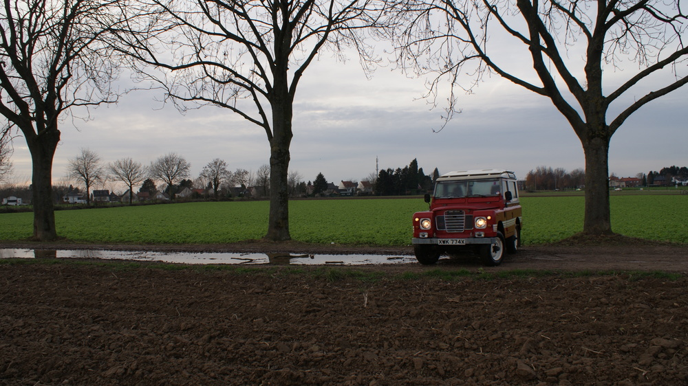 """Rosie"", my Series III Landrover"