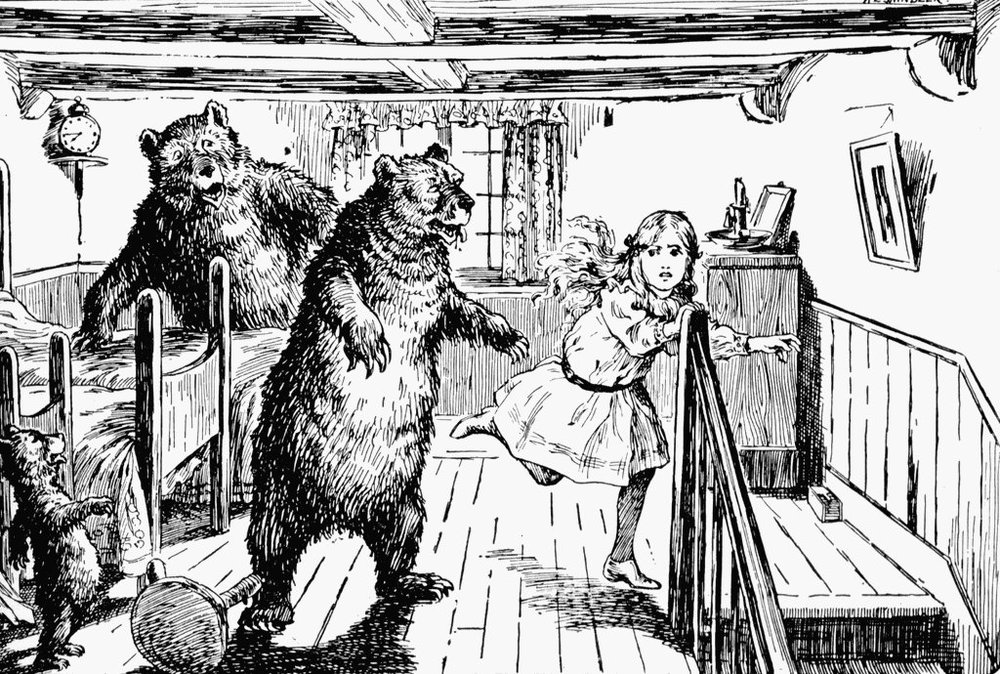Wiki Commons: Goldilocks 1912