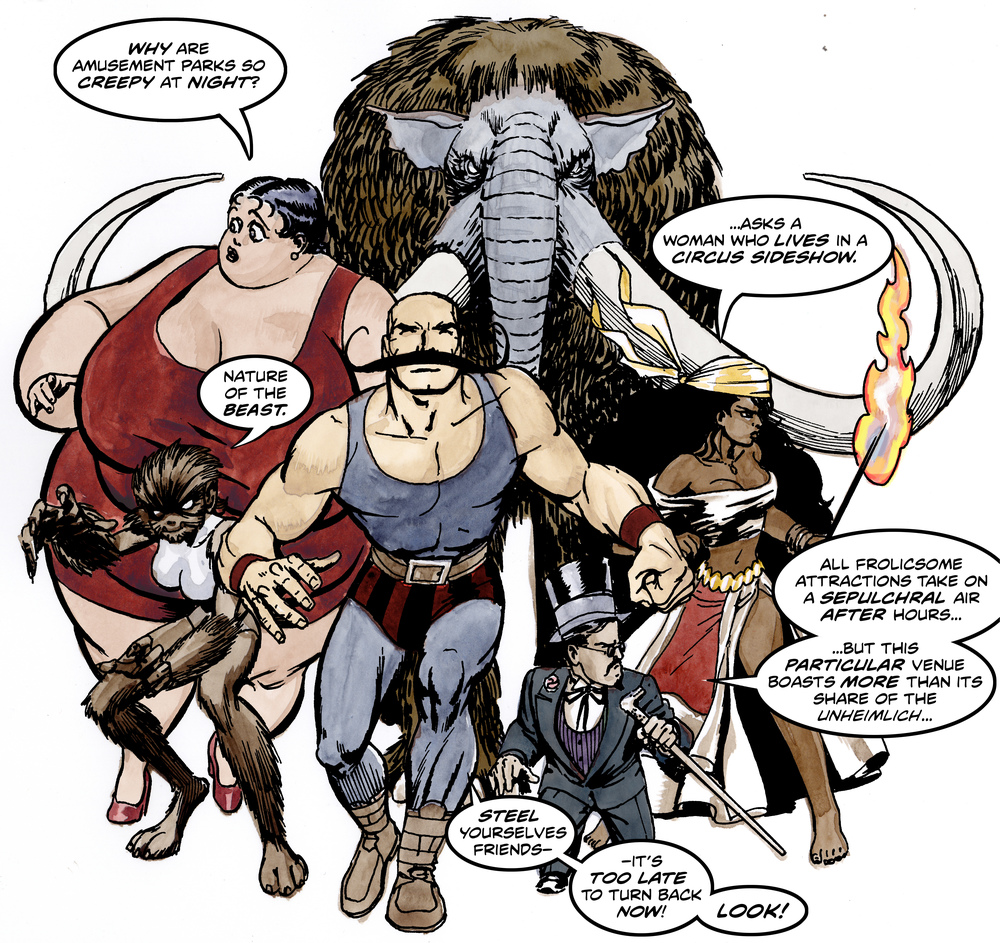 Strongman and friends / Strongman and associated characters Copyright 2016 Jon Bogdanove