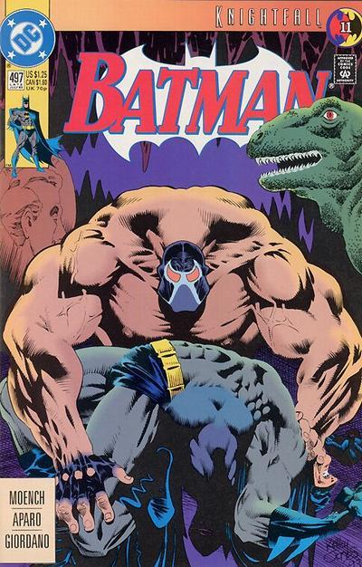 SHOW NOTE   - (24:56): Renowned comic book artist Kelley Jones began his involvement with DC Comics' Batman in the 1990s with his striking covers on the issues of the 'Knightfall' series. Kelley would go on to illustrate nearly all of the other covers in the event and finally become the regular penciller for a lengthy run on the 'Batman' comic book in the mid-1990s.