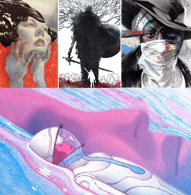 SHOW NOTE   - (29:37): Eric mentions transferring to Virginia Commonwealth University and their Communication Arts program. Illustrator Sterling Hundley is one of the instructors and several alumni such as Pfeiffer, Richie Pope, Jeffery Alan Love and Chris Visions have become young illustrators currently making waves in the art world. ( clockwise from left ) Sterling Hundley, Jeffery Alan Love, Chris Visions and Richie Pope.