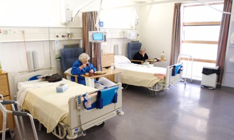 'A cost comparison between keeping a person in an NHS acute bed versus allowing them to return home with support is favourable.'     Photograph: Glyn Allan/Alamy