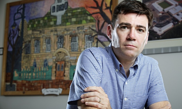 The shadow health secretary, Andy Burnham, will include the issue in Labour's election manifesto. Photograph: Christopher Thomond