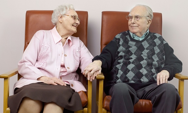 'Being worthy of touch is important when we consider that older, frailer and sicker bodies are touched largely for the purposes of care.' Photograph: Alamy