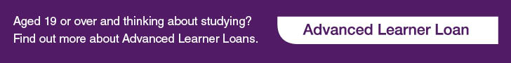 Click here to find out more information about Advanced Learner Loans