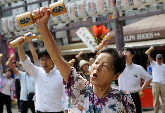 Stereotypes rob older people of the unique identities they spend decades forming. Photograph: Yoshikazu Tsuno/AFP/Getty Images