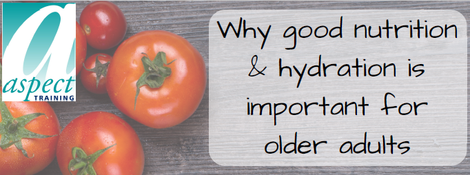 why good n&h is important for older adults