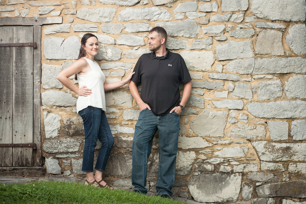 Cyrus McCormick Farm engagement session Bent-Lee Carr Photography