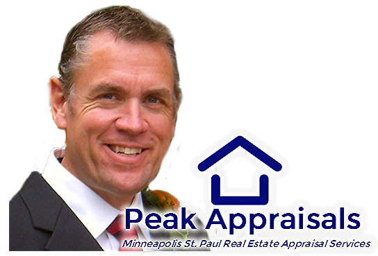 Peak Appraisals. Serving the Minneapolis St. Paul Real Estate Market