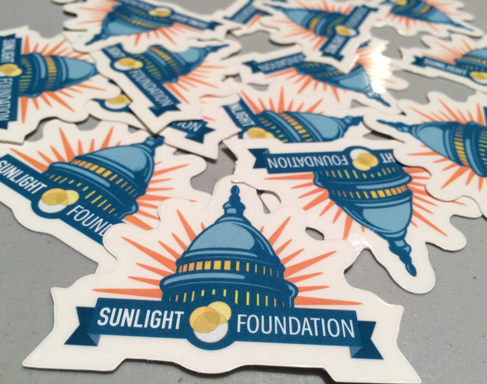 Sunlight Foundation Stickers