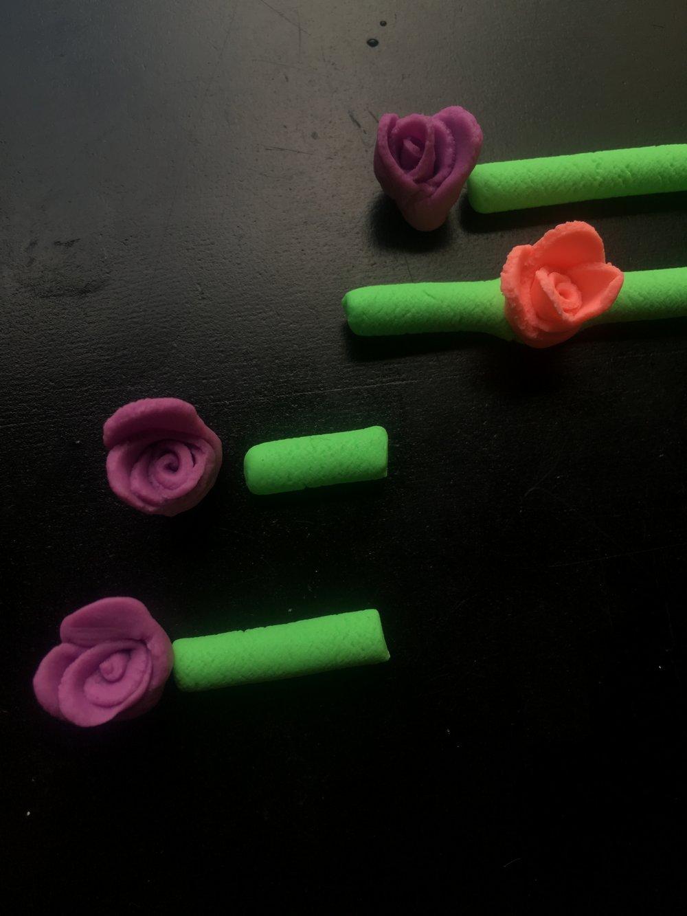 Flower dot plot viz
