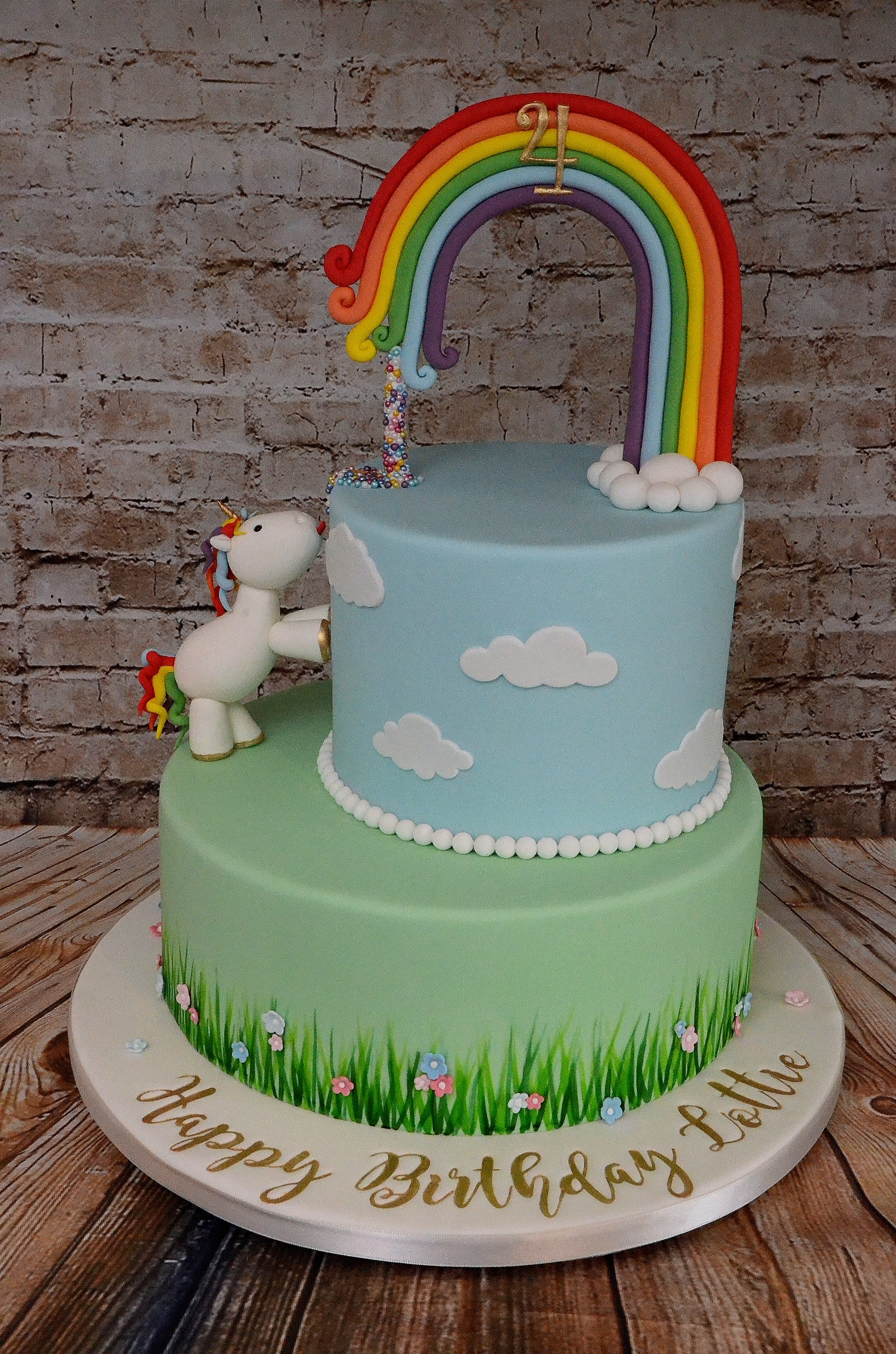 Were Going To The Zoo Winnie Pooh Birthday Cake