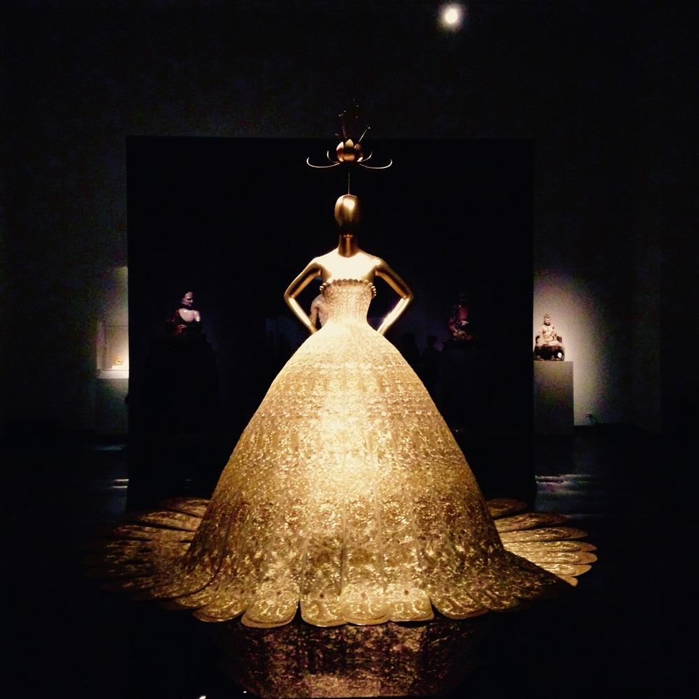 Guo Pei gown at The Met
