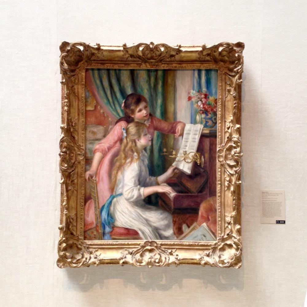 My favorite: Renoir at The Met