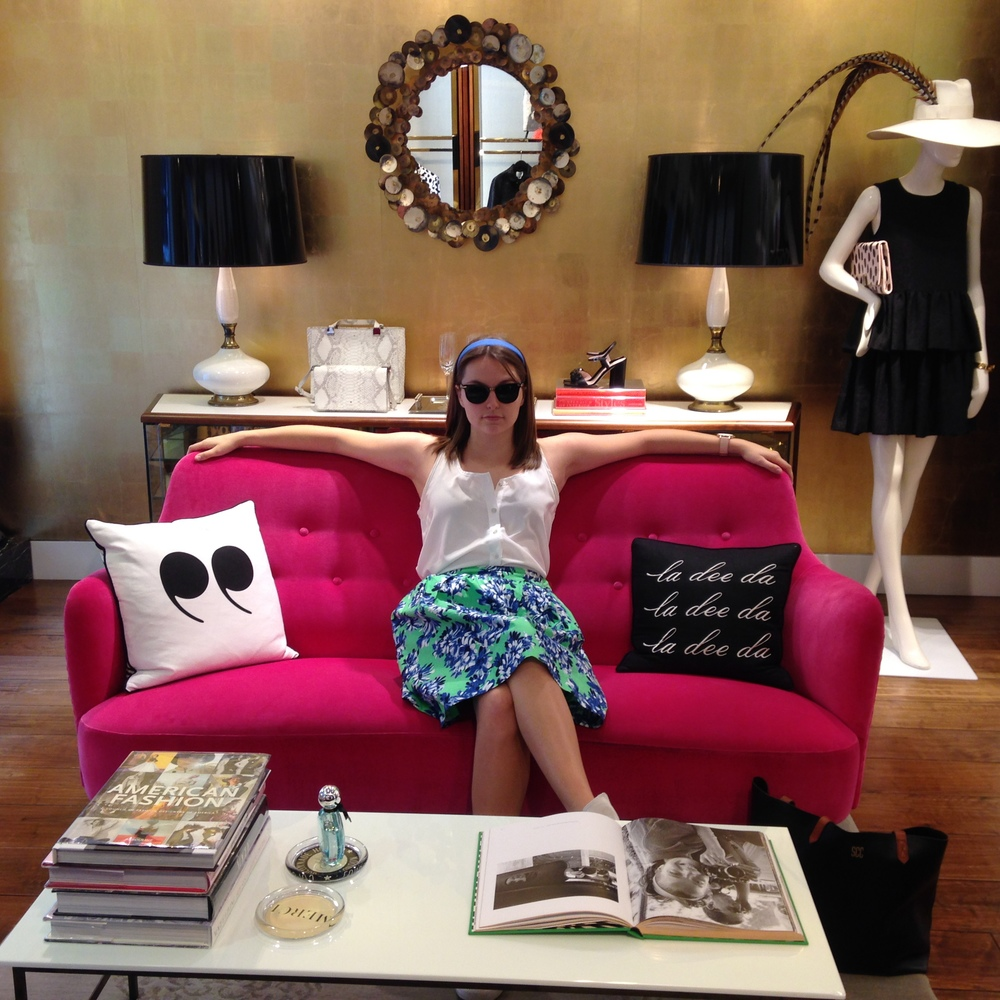 kate spade non-elevator couch
