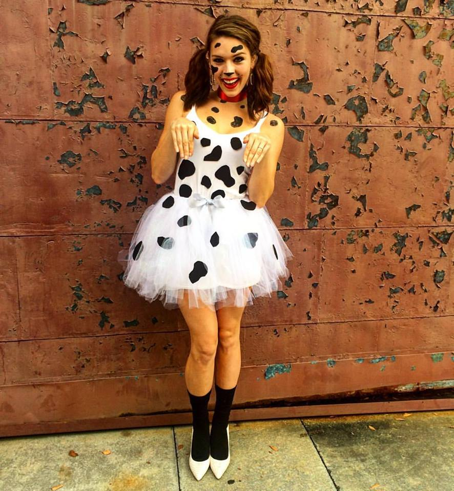 Molly Mastin as the world's most fashionable dalmatian