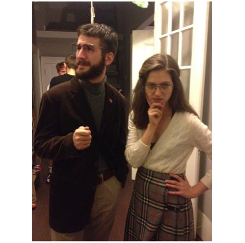 Hannah Robbins and Isaac Hopkinsas the young Bill & Hill