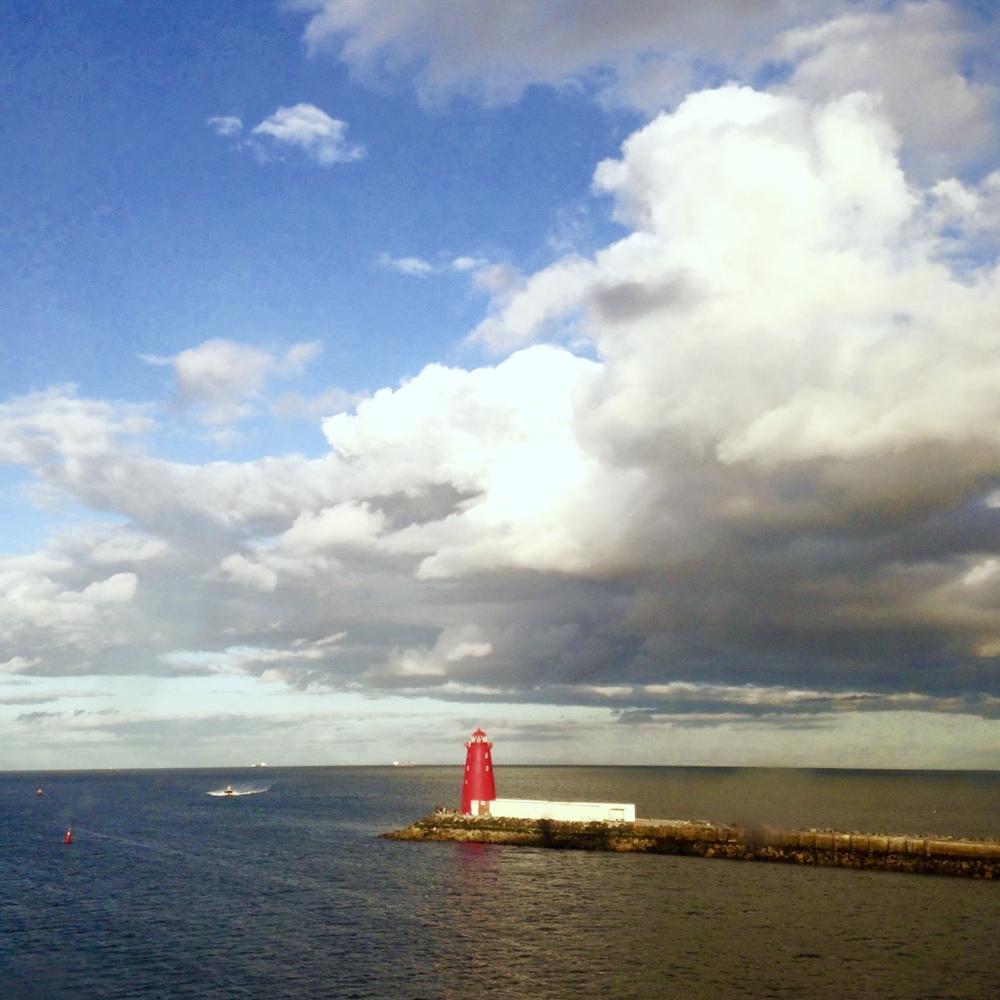 irish lighthouse!
