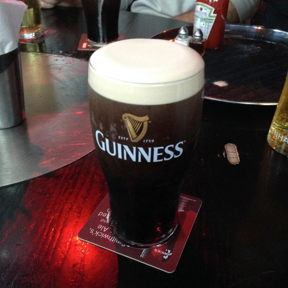 gross irish beer!