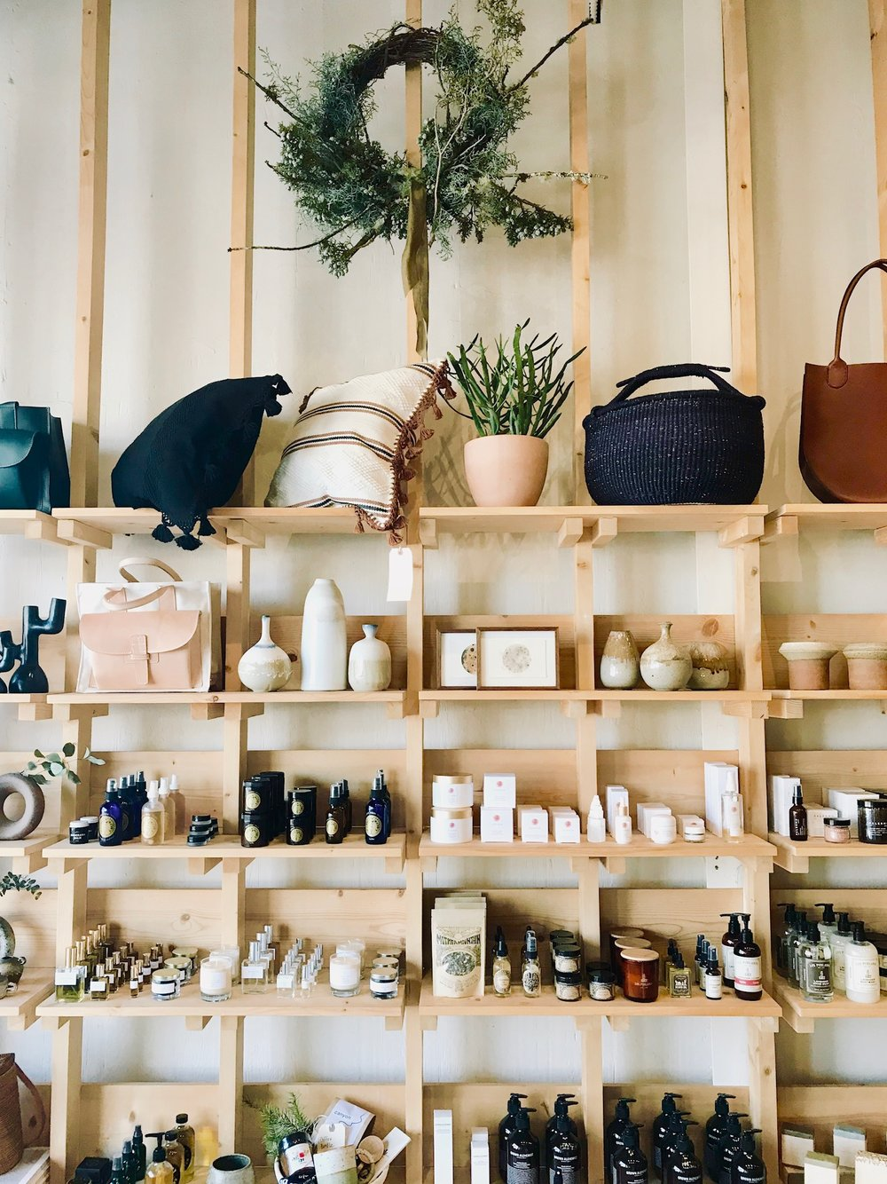 Favorite place to gift shop:  Midland  in Los Angeles