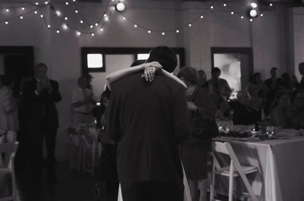 Photo of our first dance by the incomparable  Gabbie Burseth , whom you should hire immediately.