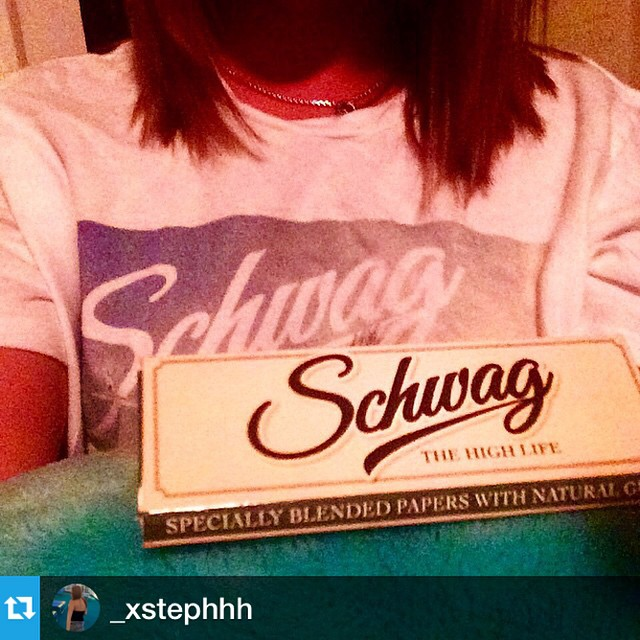 #Repost from @_xstephhh Time to  celebrate. The first shipment of Schwag all natural rolling papers has arrived! 🍻🍃💨