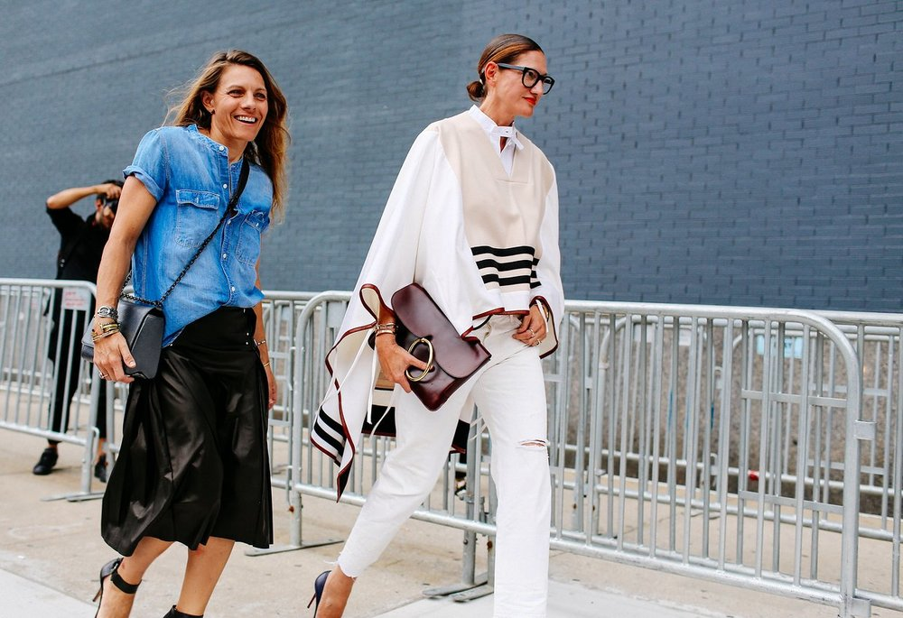 Courtney Crangi & Jenna Lyons
