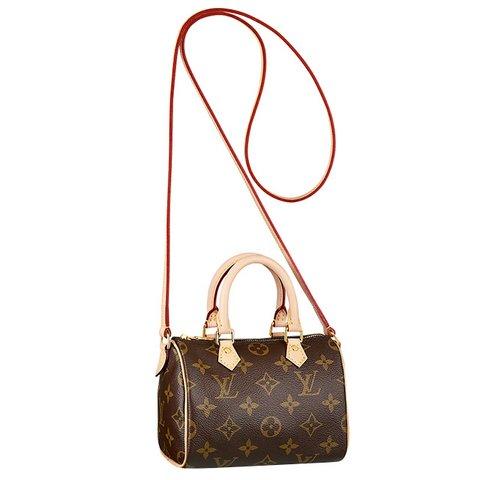 Louis Vuitton Nano Speedy çanta, $955,  S atın almak için tıklayın
