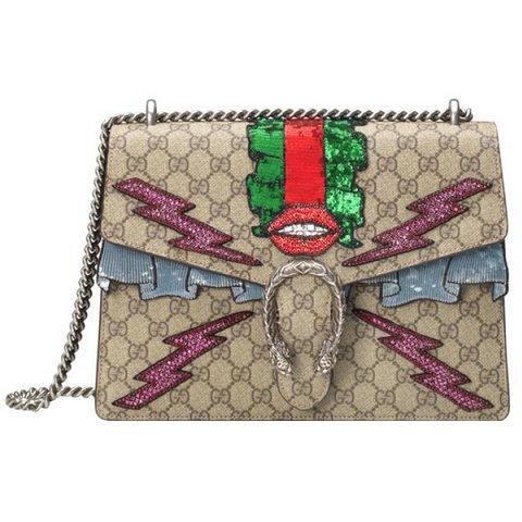 Gucci Dionysus GG Supreme is  lemeli çanta, $3,800,  S  atın almak için tıklayın