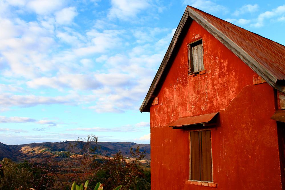 Farmhouse near Antananarivo.