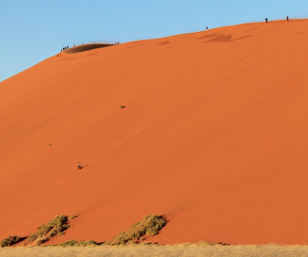 Dune 45 in Sossusvlei.