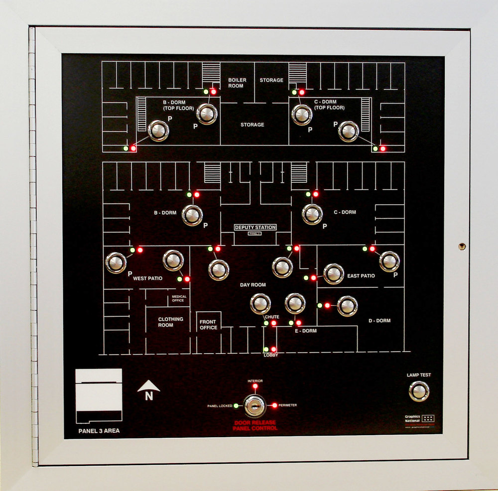 LED Graphic Annunciator, Mimic Panel