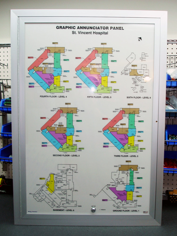LED Graphic Annunciators / Mimic Panels — Graphics National