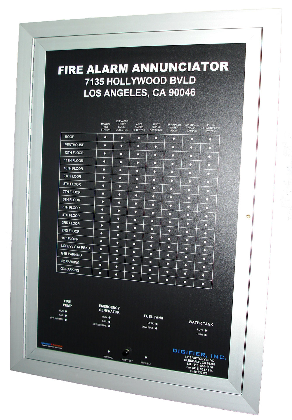 LED Graphic Annunciators / Mimic Panels — Graphics National ...