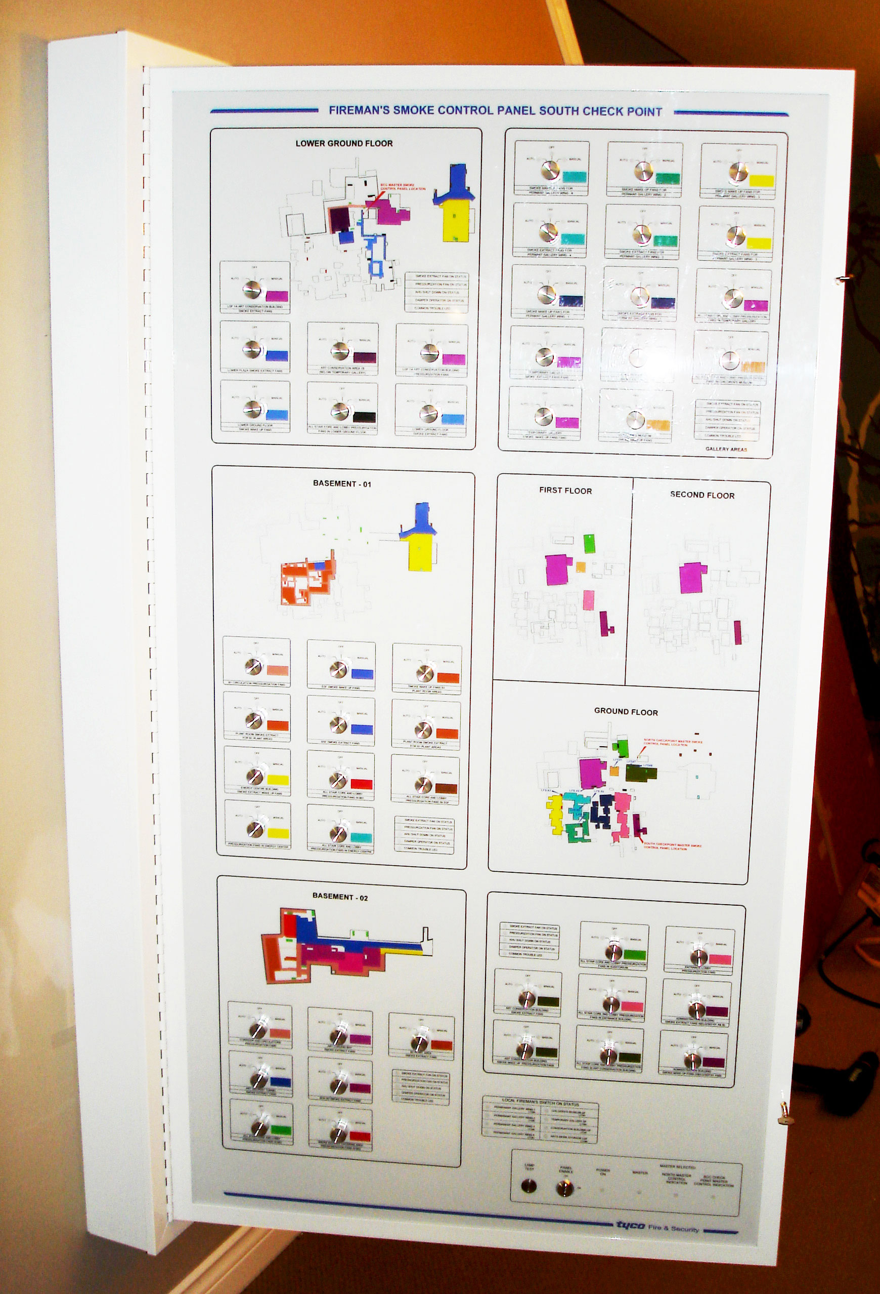 Projects — Graphics National - Graphic Annunciators/Smoke Control Panels