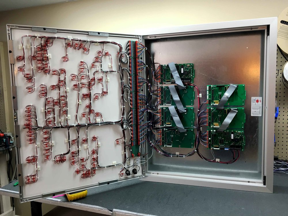 led graphic annunciators mimic panels graphics national rh graphicsnational com Rocker Balance Board Map Monitor Boards