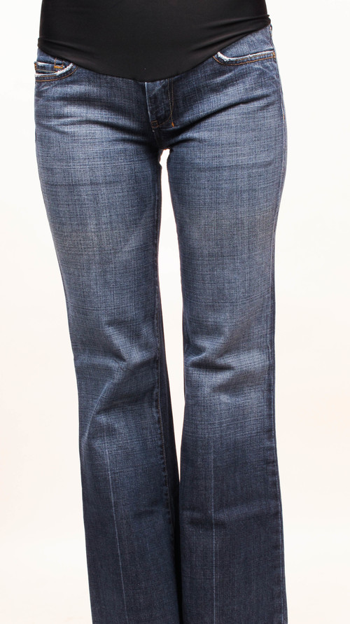 7 For All Mankind Dojo Flare Maternity Jeans 24 x 27 - 7 For All Mankind Dojo Flare Maternity Jeans 24 X 27 — She & Wolf