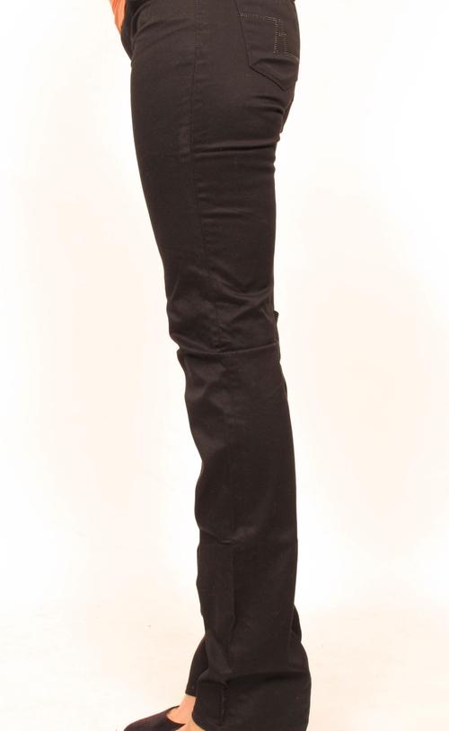 4ec65befc Zara Black Straight Leg Maternity Jeans 27 x 34 — She   Wolf