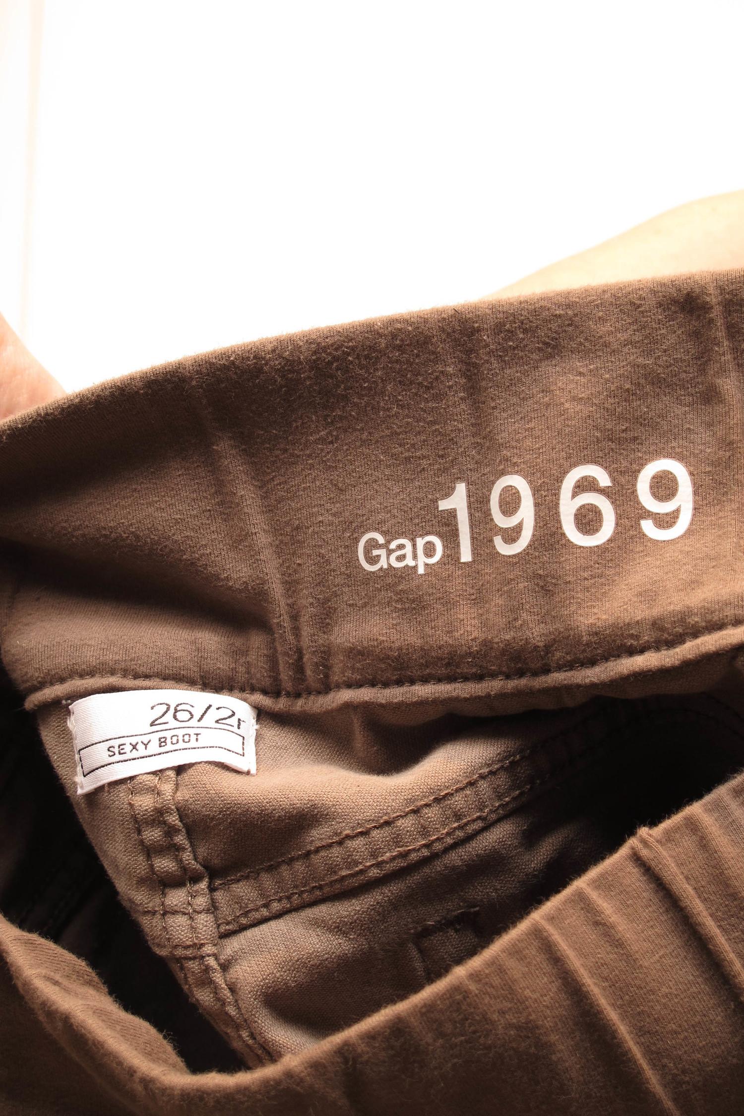 17549fd27cbcc GAP Bootcut Maternity Corduroy Pants 30 x 29 — She & Wolf