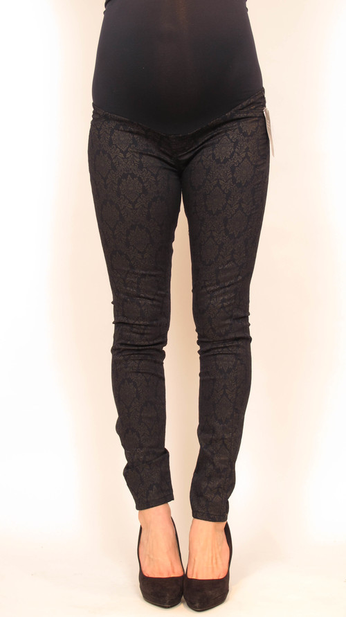 92568f4999560 Blank NYC Printed Skinny Maternity Jeans 30 — She & Wolf