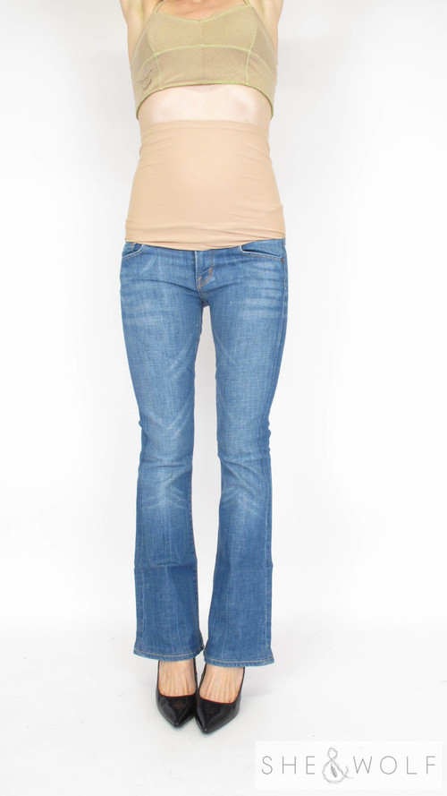 Citizens Of Humanity Flare Maternity Jeans 25 x 32 - Citizens Of Humanity Flare Maternity Jeans 25 X 32 — She & Wolf
