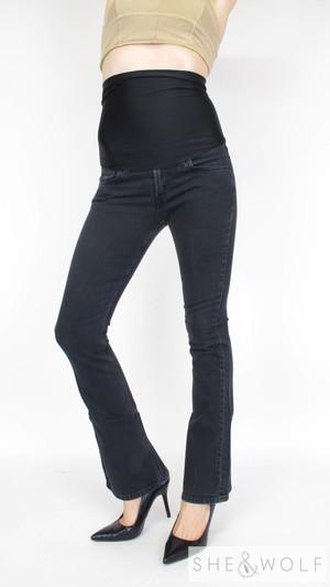 6da1c845a6730 Levi's Black Bootcut Maternity Jeans 26 x 32