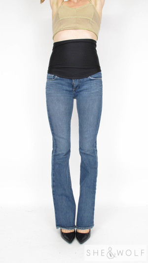 fb027b617305c Paige Premium Denim Bootcut Maternity Jeans 28 x 34