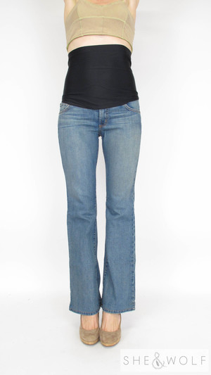 a6bb8c7a080bf James Jeans Bootcut Maternity Jeans 28 x 30
